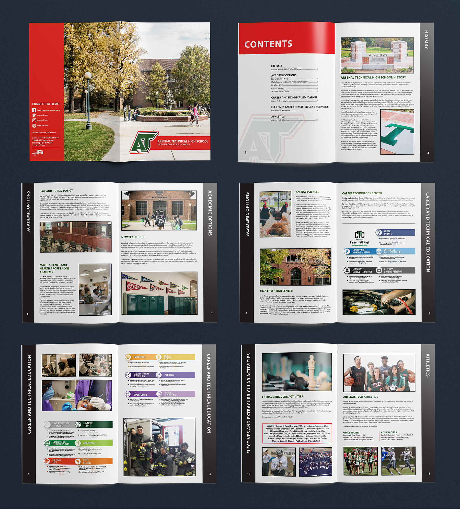 Indianapolis Publice Schools - Arsenal Technical High School Campus Book